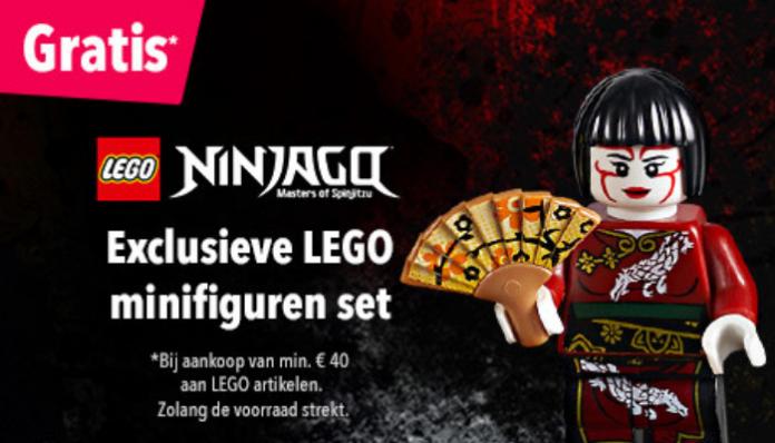 LEGO 5005257 Ninjago Bricktober 2018 verkrijgbaar