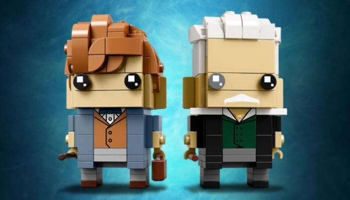 LEGO BrickHeadz 41631 Newt Scamander and Gellert Grindelwald