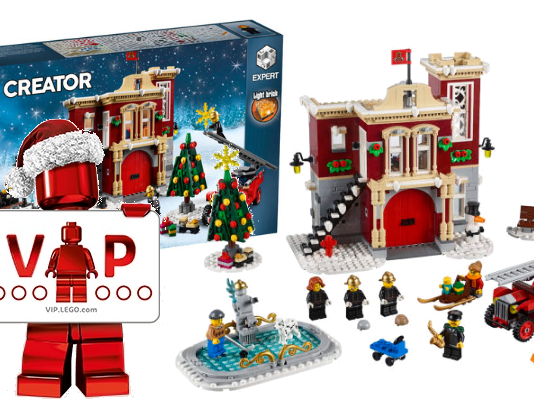 LEGO Creator Expert Fire Station VIP Early Access