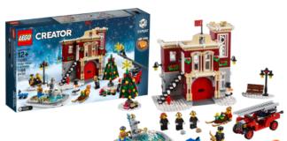 LEGO Creator Expert 10263 Winter Village Fire Station aangekondigd