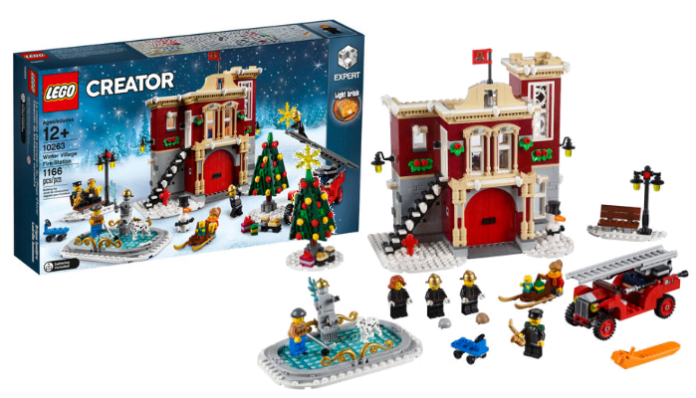lego creator expert 10263 winter village fire station aangekondigd. Black Bedroom Furniture Sets. Home Design Ideas