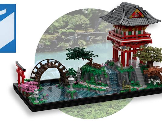 LEGO Ideas Japanese Tea Garden