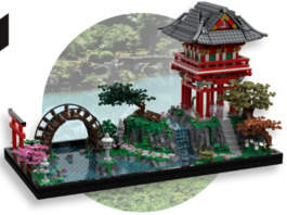LEGO Ideas LEGO Ideas Japanese Tea Garden bereikt 10K supporters