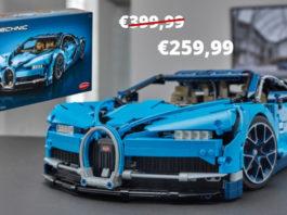 LEGO Technic 42083 Bugatti voor €259,99