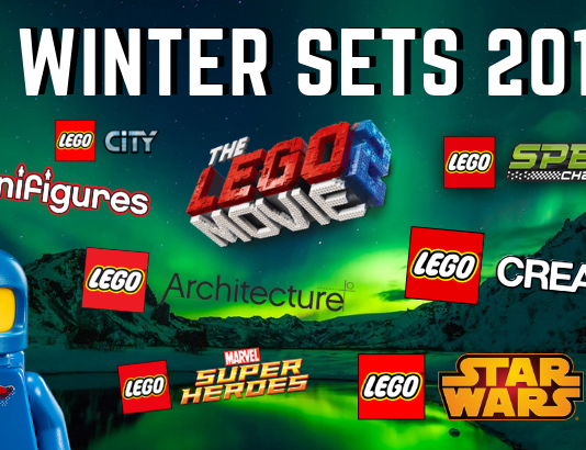 LEGO winter sets 2019