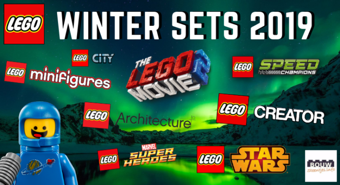 LEGO winter sets 2019