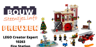 Preview LEGO Creator Expert 10263 Fire Station