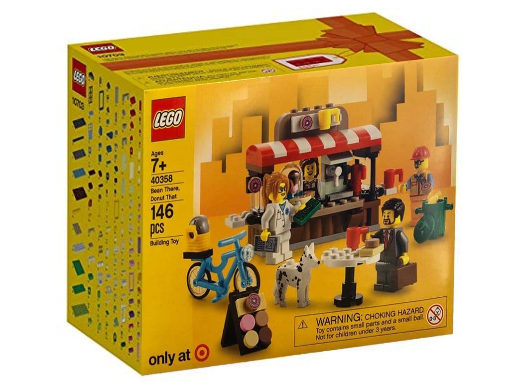 LEGO 40358 Bean There Donut That opgedoken