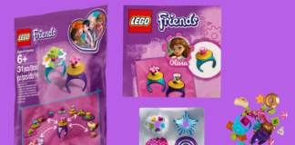 gratis LEGO 5005237 Friendship Rings Polybag