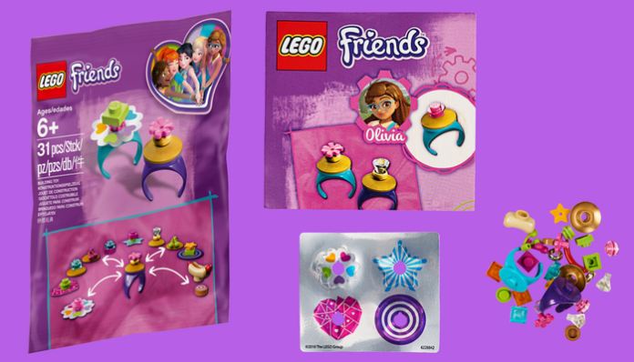 gratis LEGO 5005237 Friendship Rings Polybag