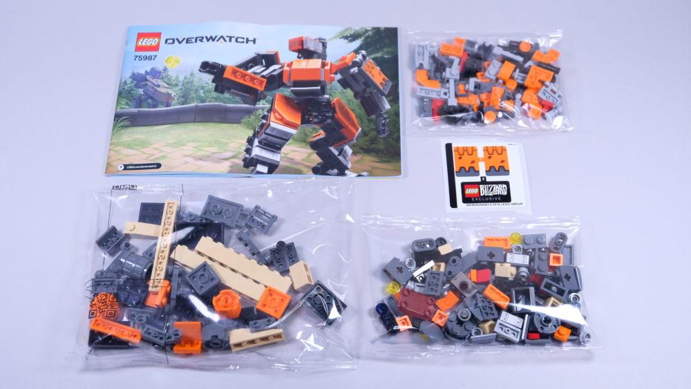 LEGO Overwatch Omnic Bastion