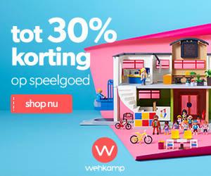 Tot 35% korting op speelgoed