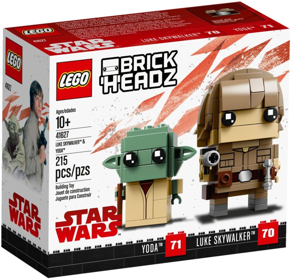 LEGO BrickHeadz 41627 Yoda and Luke