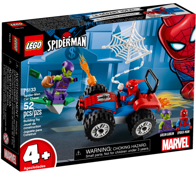 LEGO Marvel 76133 Spider-Man Car Chase