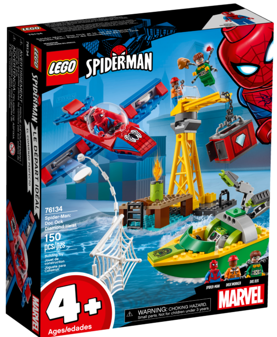LEGO Marvel 76134 Spider-Man Doc Ock Diamond Heist