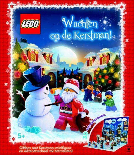 LEGO wachten op de kerstman