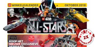 Europese LEGO Store kalender oktober 2018