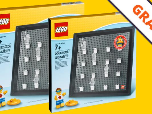 Gratis LEGO 5005359 Minifigure Collector Frame