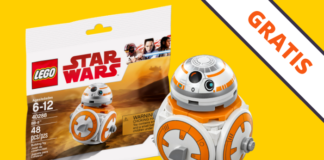 Gratis LEGO Star Wars 40288 BB-8 Polybag