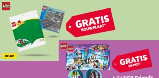 Gratis LEGO bouwplaten en Ski Pod