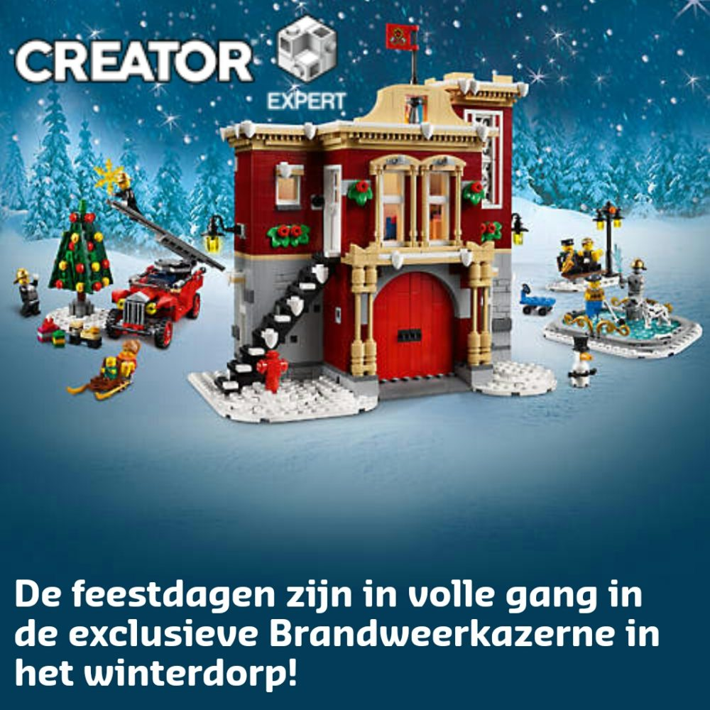 LEGO Creator 10263 Banner