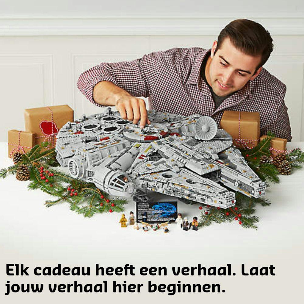 LEGO UCS Millennium Falcon banner