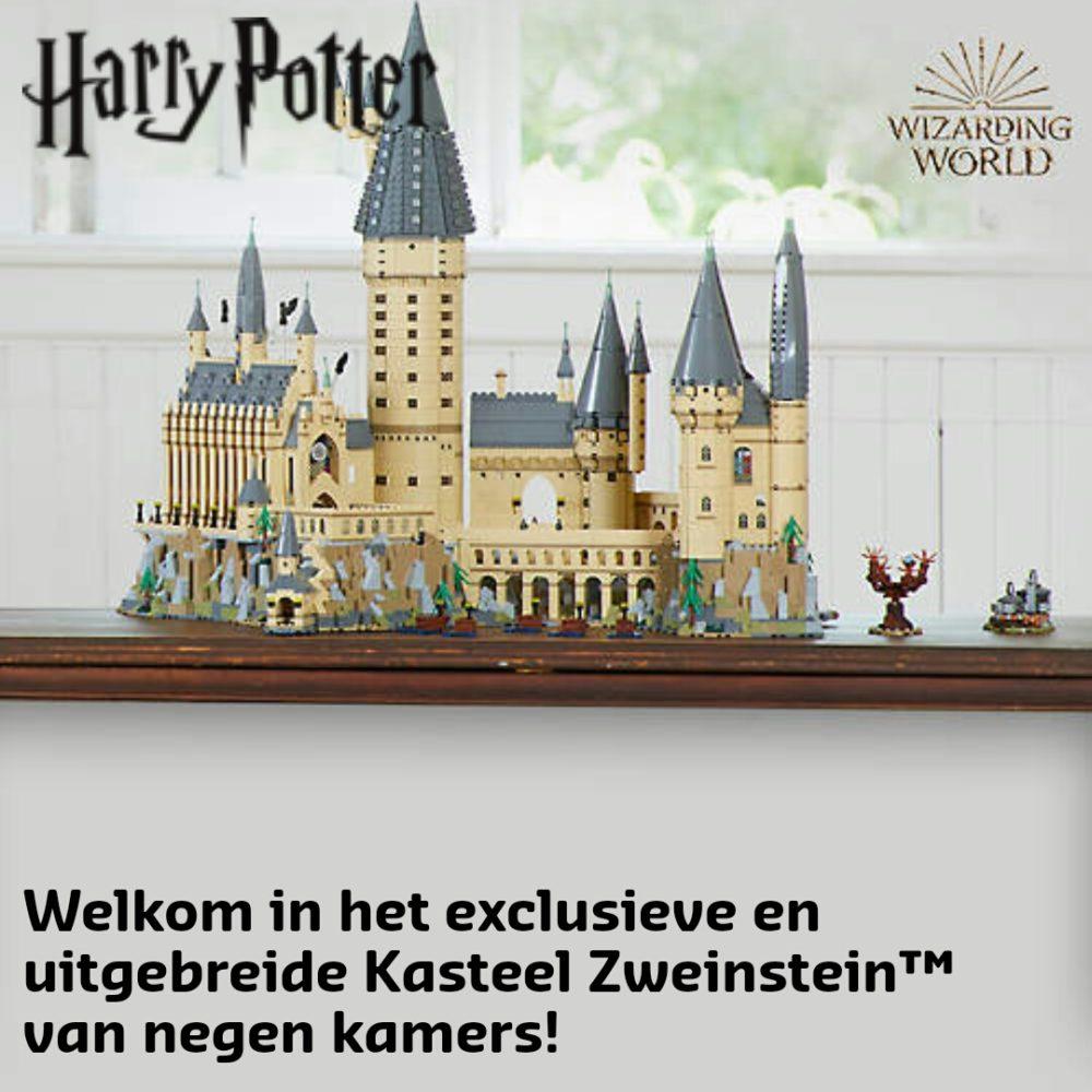 Hogwarts castle banner