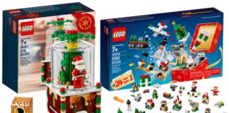 LEGO 40222 Christmas Build Up en 40223 Snowglobe