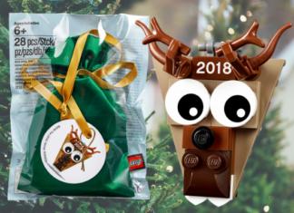 LEGO 5005253 Christmas Reindeer Ornament