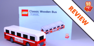 LEGO 6258622 Classic Wooden Bus