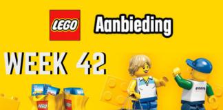 LEGO Aanbiedingen week 42 2018