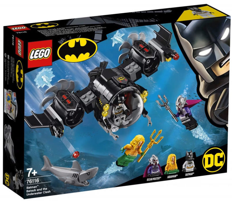 LEGO Batman 76116 Batsub Underwater Clash