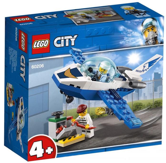 LEGO City60206 Police Patrol Jet