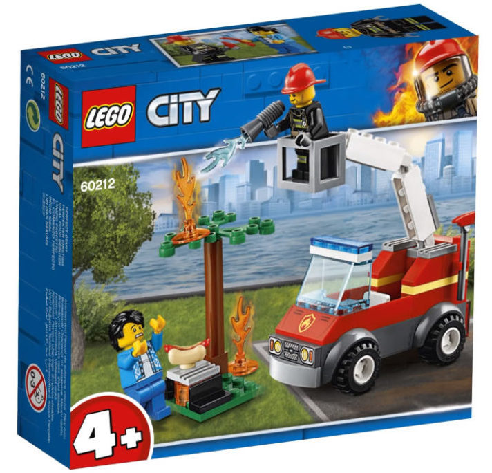 LEGO City 60212 Barbecue Extinguish