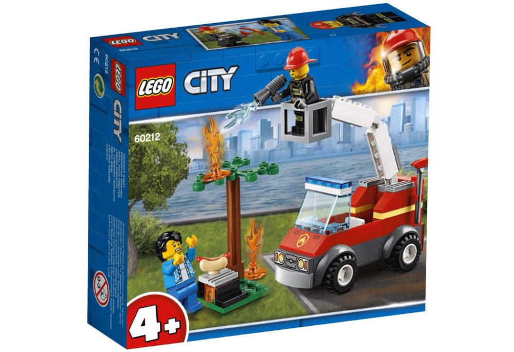 LEGO City60212 Barbecue Extinguish