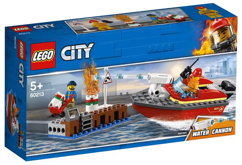 LEGO City 60213 Fire in the Dockyards