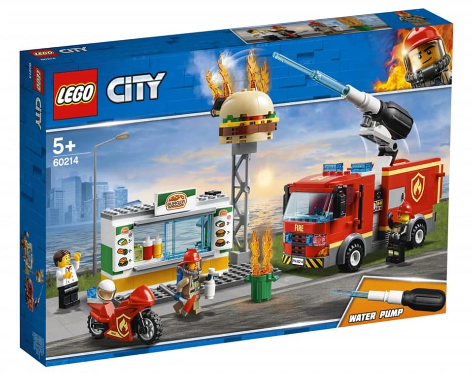 LEGO City 60214 Burger Bar Fire Rescue
