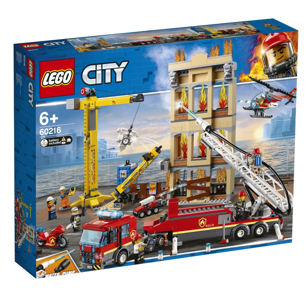 LEGO City 60216 City Center Firefighters