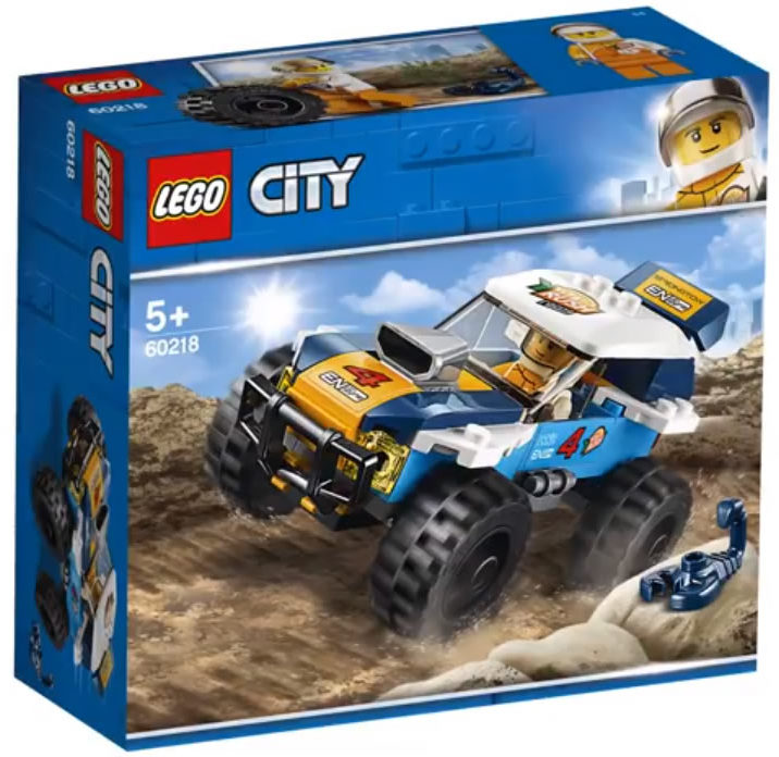 LEGO City 60218 Desert Rally Car