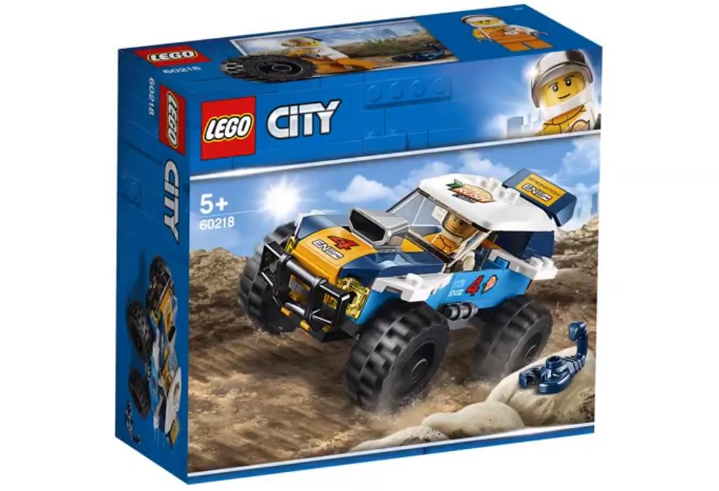LEGO City60218 Desert Rally Car