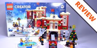 LEGO Creator 10263 Winter Village Fire Station