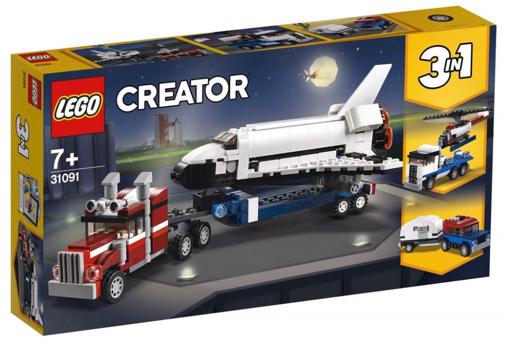 LEGO Creator31091 Shuttle Transporter