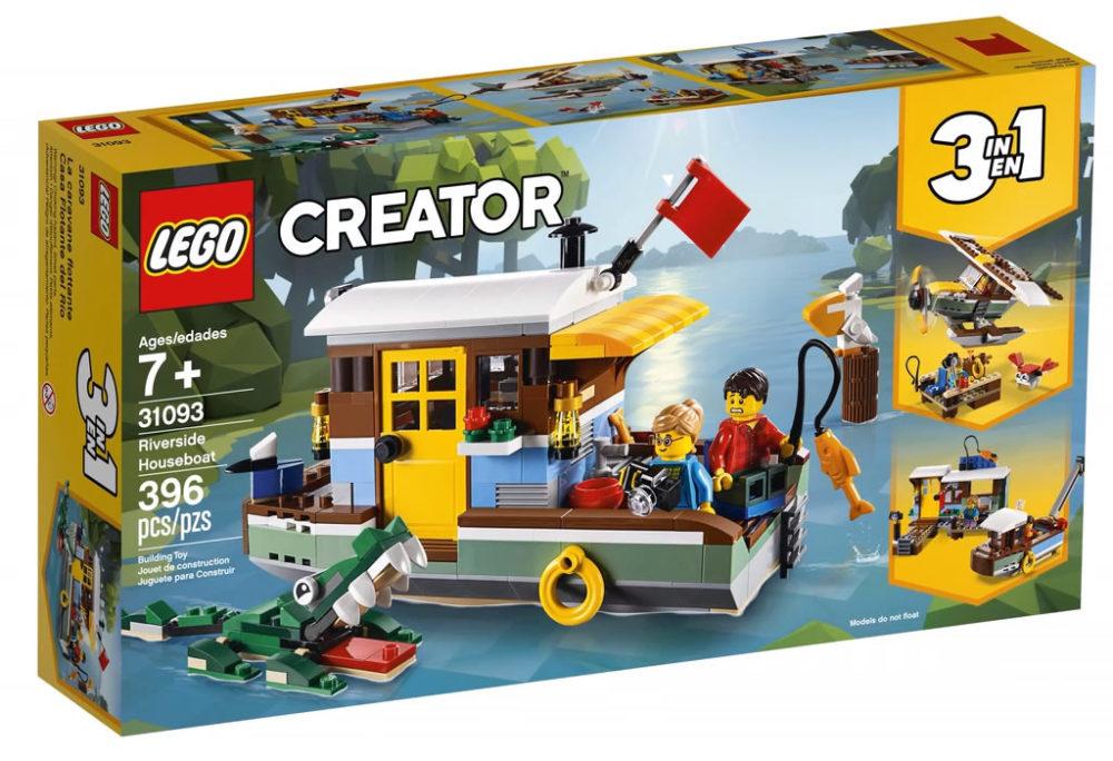 LEGO Creator31093 Riverside Houseboat