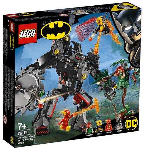 LEGO DC Comics76117 Batman Mech vs. Poison Ivy Mech