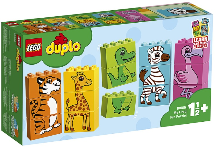 LEGO Duplo 10885 My First Puzzle