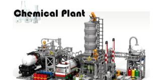 LEGO Ideas Chemical Plant