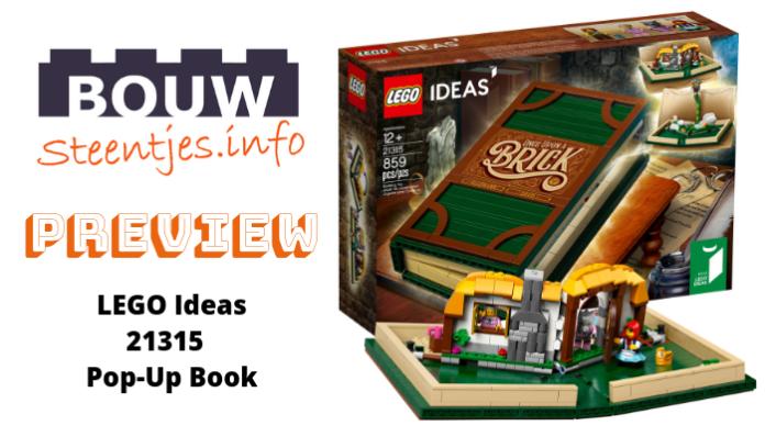 LEGO Ideas Pop-Up Book