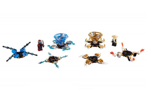 LEGO Ninjago 70663 Spinjitzu Nya vs Wu