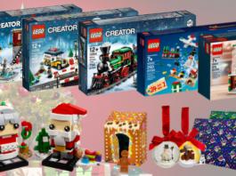 LEGO kerstsets 2018
