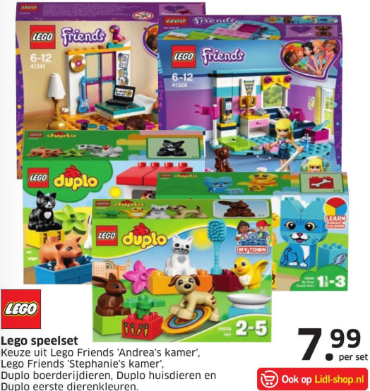 Lego Aanbiedingen Bouwsteentjesinfo
